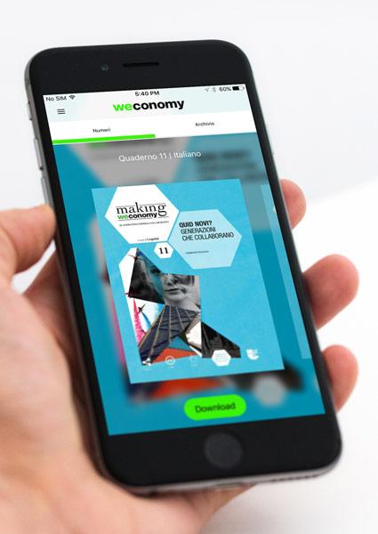 L'app di Weconomy per rimanere aggiornati e avere sempre a portata di mano tutti i contenuti